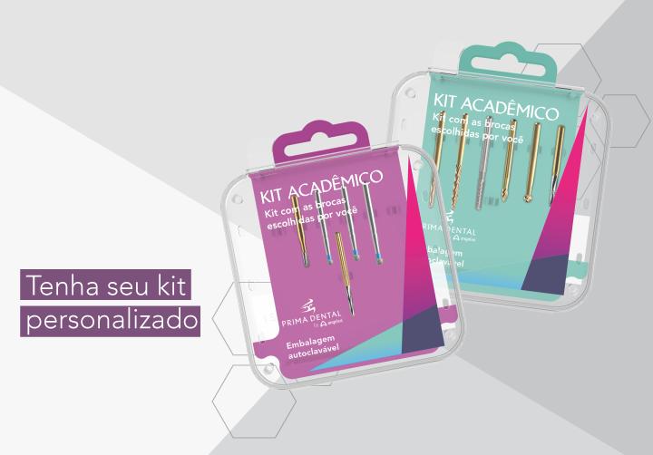 Quer ter seu próprio kit acadêmico?
